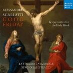 Scarlatti Alessandro スカルラッティアレッサンドロ / 『聖週間−聖金曜日のためのレスポンソリウム』 ラ・スタジオーネ・アルモニカ 輸入盤 【CD】
