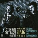 Stan Getz/Chet Baker スタンゲッツ/チェットベイカー / Live At The