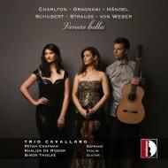 【送料無料】 Venere Bella-for Soprano, Violin & Guitar: Trio Cavallaro 輸入盤 【CD】