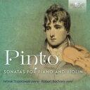 ピント、ジョージ・フレデリック(1786-1806) / ピアノとヴァイオリンのためのソナタ第1番、 ...