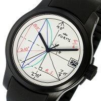 フォルティスFORTISロルフ・ザックスコラボレーション2π自動巻きメンズ腕時計6551892Kホワイト