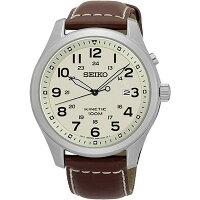 セイコーSEIKOキネティッククオーツメンズ腕時計SKA723P1アイボリー