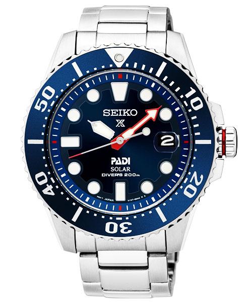 セイコーSEIKOプロスペックスPROSPEXPADIパディコラボソーラーダイバーズメンズ日本製腕時計 モデルSNE435J1
