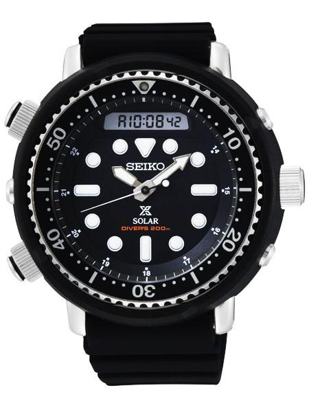 セイコーSEIKOプロスペックスPROSPEXアナデジソーラー200Mダイバーズ腕時計SNJ025P1(国内SBEQ001同型)