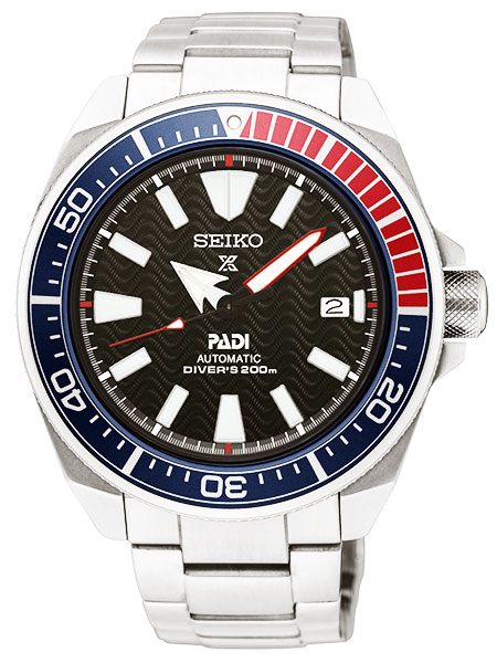 セイコーSEIKOプロスペックスPROSPEXPADIパディコラボ自動巻きサムライダイバーズ腕時計SRPB99K1
