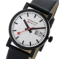 モンディーンMONDAINEクオーツレディース腕時計A669.30305.61SBBホワイト