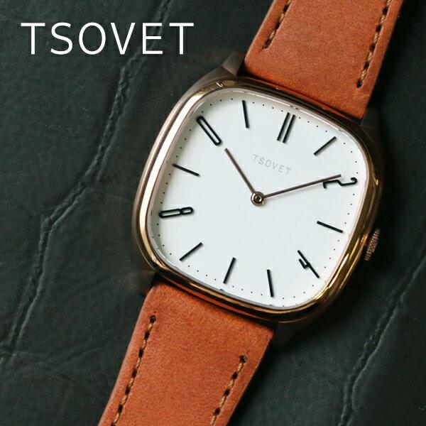 ソベット TSOVET JPT-TW35 クオーツ ユニセックス 腕時計 TW551513-05 ホワイト