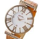 フォリフォリ FOLLI FOLLIE ダイナスティ DYNASTY クオーツ レディース 腕時計 WF1B029SSS-OR ホワイト