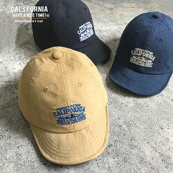 《CALIFORNIAHAVEANICETIME!》カリフォルニアハブアナイスタイムMOUNTAINS.VCAP(CGC-101)マウンテンショートバイザーキャップショートブリムツバ短ベアー帽子メンズレディースブランド