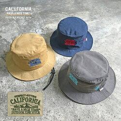 《CALIFORNIAHAVEANICETIME!》カリフォルニアハブアナイスタイムPACKABLEBUCKETHAT2(CGH-101)パッカブルバケットハット撥水ハットベアー帽子メンズレディースブランド