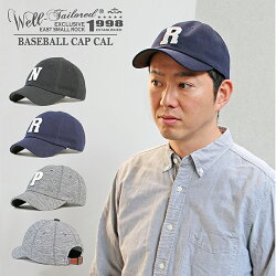 《Well-Tailored》ウェルテーラードBaseballCapCal(KKC-280)ベースボールキャップメンズレディースブランド