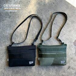 《CALIFORNIAHAVEANICETIME!》カリフォルニアハブアナイスタイムMULTISHOULDERSACOSH(MHB-011)リメイクリサイクルミリタリーバッグショルダーバッグメンズレディースブランド