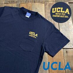 《UCLA》ユーシーエルエーSHORTSLEEVEPOCKETT-SHIRT(UCAG-022)ショートスリーブTシャツポケTポケットTカレッジストリートブランドメンズレディース