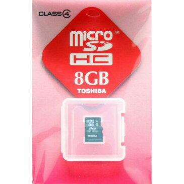 【期間限定P5倍】【メール便送料無料】TOSIHA/東芝 マイクロSDHCカード8GB[microSDメモリーカード]SD-ME008GS【RCP】