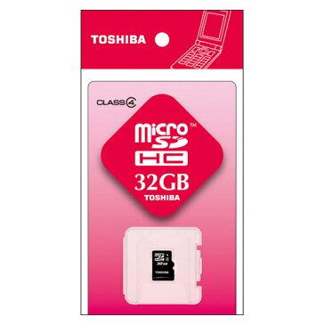 【10日エントリー+P5倍】【メール便送料無料】東芝 microSDHCメモリーカード 32GB SD-ME032GS 簡易パッケージ Class4 [ クラス4 / マイクロSDカード / microSDカード / マイクロSDHCカード / マイクロSDHCメモリカード / TOSHIBA ]※お取り寄せ【RCP】