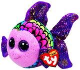 Ty Beanie Boos - Flippy The Fish (glitter Eyes) (15cm ) - Mwmts Boo Toy