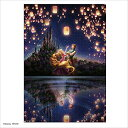 【送料込み価格】ジグソーパズル ラプンツェル 湖面が映す未来 1000ピース 【光るパズル】 (51x73.5cm)