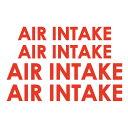 FrontLine フロントライン ファイターコーションステッカー AIR INTAKEデカール・シール・アメリカ軍・空軍・航空自衛隊 05P05Nov16