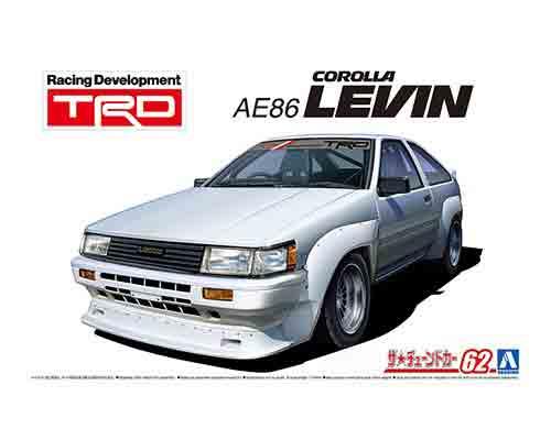 車・バイク, クーペ・スポーツカー 124 TRD AE86 N2 83