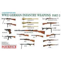 ドラゴン 1/35 WW.II ドイツ軍 歩兵用 ウエポン(銃器)セットII【10P11Mar…