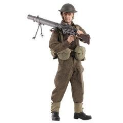 ドラゴン 1/6 WW.II イギリス海外派遣軍 ルイス軽機関銃手「ロバート・デイヴィス」ダン…