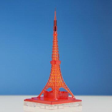 日本卓上開発 1/2500 ジオクレイパー 東京タワー イルミネーションタワー クリアレッド