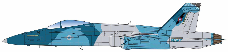 ミリタリー, 戦闘機・戦闘用ヘリコプター  1144 FA-18C
