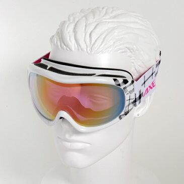 【最安値チャレンジ】★15-16モデル アックス AX600-WCM WT スノーボードゴーグル スノーボード スキー スノボー スノー スノボ ゴーグル スキーゴーグル AXE スノーゴーグル 2015-2016 ダブルレンズ 曇り止め機能 メガネ ヘルメット対応 【No.04】