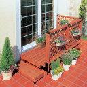 ガーデンシステムデッキ0.5坪セットGSD-0.5STブラウン