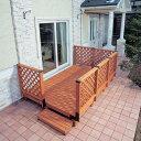 ガーデンシステムデッキ1.5坪セットGSD-1.5STブラウン