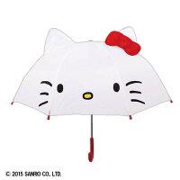 【傘】耳付き傘ハローキティ【サンリオ折り畳み傘こども傘おしゃれ】【D】【2015JP】