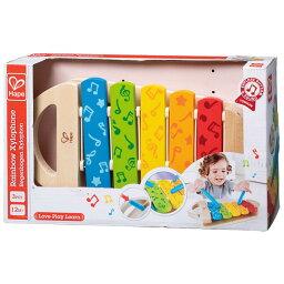 ハペ にじいろシロフォン E0606ハペ Hape シロフォン 木琴 楽器 木製 知育 玩具 【TC】