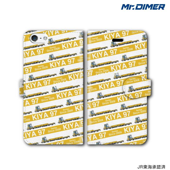 [◆]JR東海 キヤ97 0・100番台スマホケース iPhone7ケース iPhone7 iPhone6s iPhone6【手帳型ケースタイプ:ts1063nf-umc02】鉄道 電車 鉄道ファン グッズ スマホカバー iPhoneケース 手帳型スマホケースミ