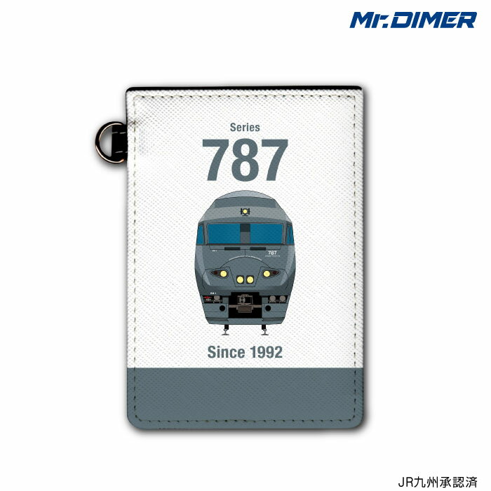 [◆]JR九州 787系アラウンド・ザ・九州ICカード・定期入れパスケース:【ts1051pb-ups01】鉄道 電車 鉄道ファン グッズ パスケースミスターダイマー Mr.DIMER