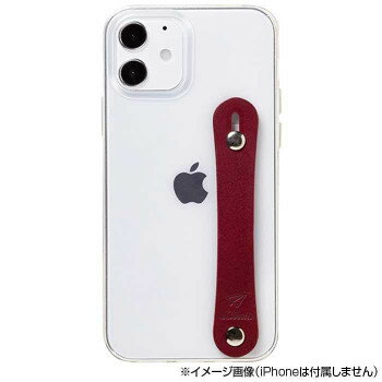 Liberta iPhone 12Pro/12 専用背面型ケース 左手持ち用 iP20_61-LB04 レッド スマートフォン 携帯電話アクセサリー[▲][AB]
