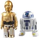 メディコムトイ キューブリック 255 スター・ウォーズ C-3PO & R2-D2 2体セット () 【フィギュ...