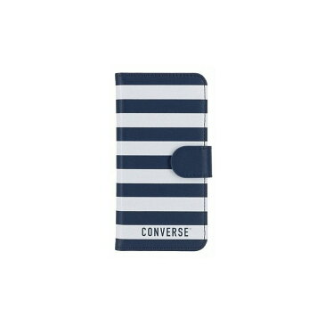 iPhone 8/iPhone 7/iPhone 6S/iPhone 6 共通 CONVERSE STRIPE FLIP #DENIM [▲][G]