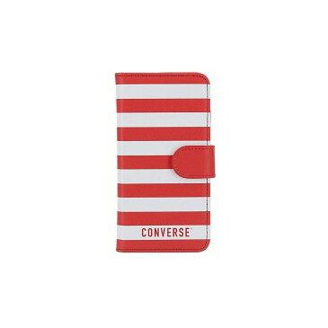 iPhone 8/iPhone 7/iPhone 6S/iPhone 6 共通 CONVERSE STRIPE FLIP #RED [▲][G]