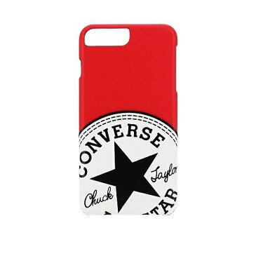 iPhone 8 Plus iPhone 7 Plus iPhone 6S Plus 共通 CONVERSE コンバース BIG CIRCLE PT #RED ケース カバー スマホ[▲][G]