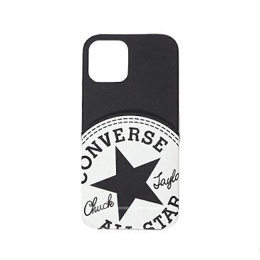iPhone 12 Pro/iPhone 12 共通 CONVERSE Big Circle LogoPU Leather スマホ スマートフォン ケース カバー[▲][G]