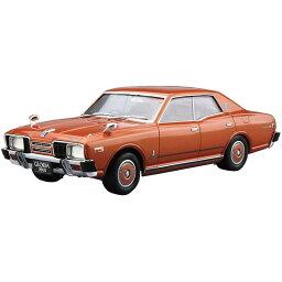 【アオシマ】1/24 ザ・モデルカーシリーズ No.53 ニッサン P332 セドリック/グロリア 4HT280E ブロアム 1978 プラモデル ホビー プラモデル 模型[▲][ホ][F]