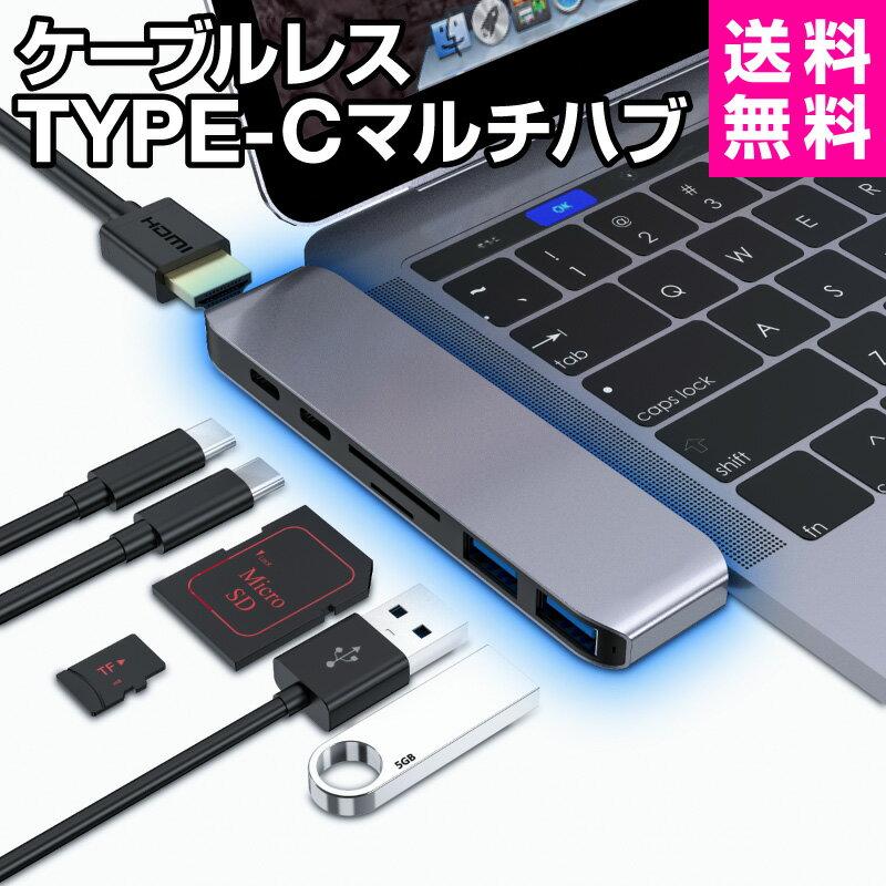 在宅勤務・テレワークにおすすめ便利グッズ⑤タイプc 変換アダプター USB-Cハブ