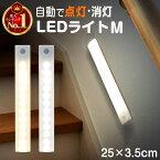 【楽天1位】人感センサー ライト センサーライト 照明 Mサイズ ledセンサーライト LEDライト 人感センサー付きライト 壁掛け照明 人感センサーライト フットライト LED人感センサーライト 屋内 人感 おしゃれ 室内 250mm マグネット 廊下 玄関 usb充電 充電式 led 感知式