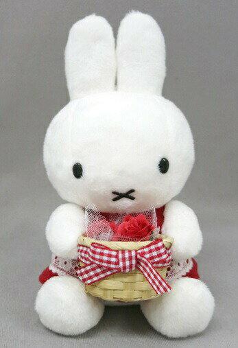 ディックブルーナミッフィーmiffyミッフィーズガーデン赤いギフト【送料無料】【男の子女の子ぬいぐるみ誕生日プレゼント】