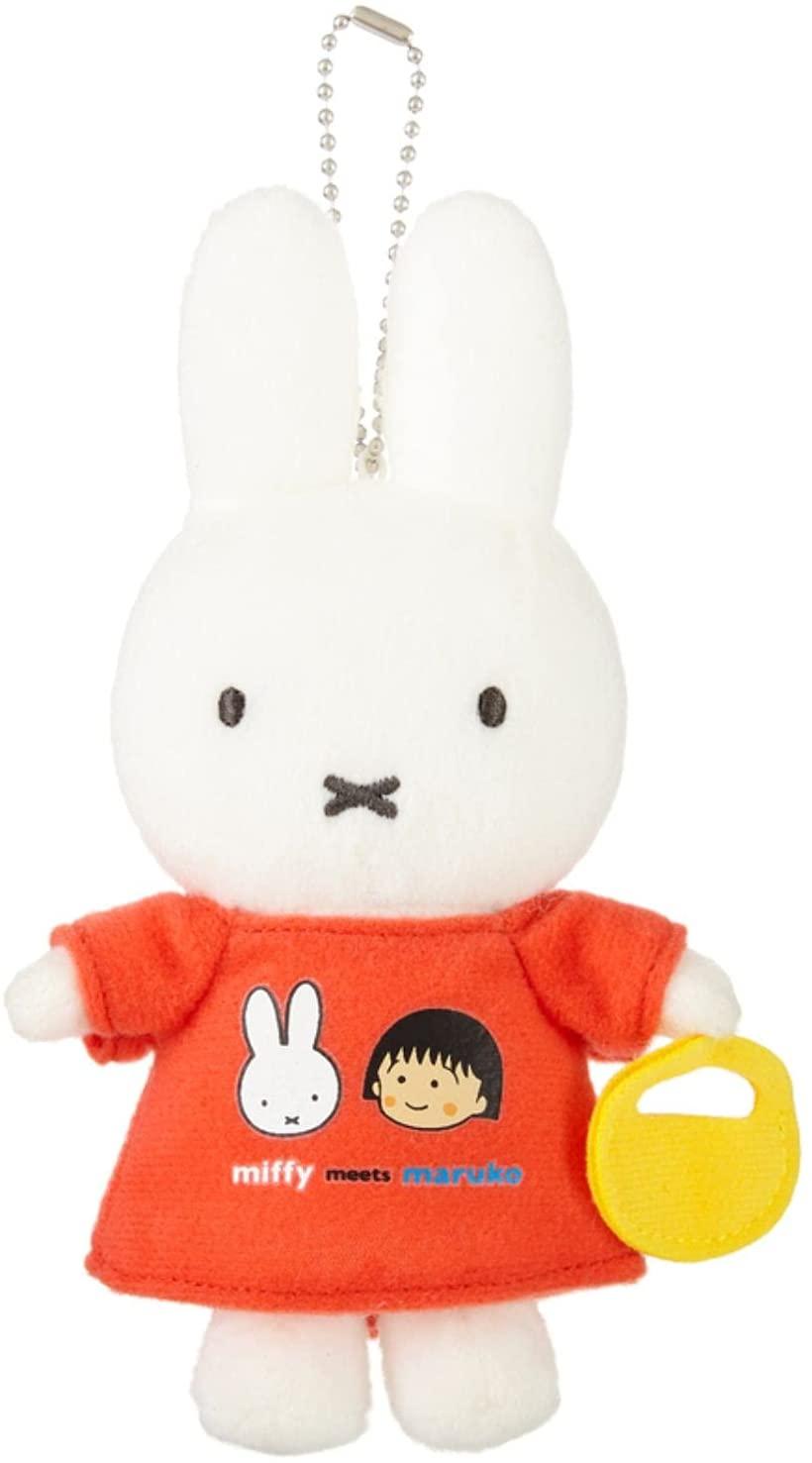 ぬいぐるみ・人形, ぬいぐるみ  maruko meets miffy H16W9.5D4.0cm