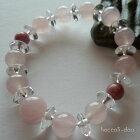 腕輪念珠(数珠ブレスレット)大玉・紅水晶