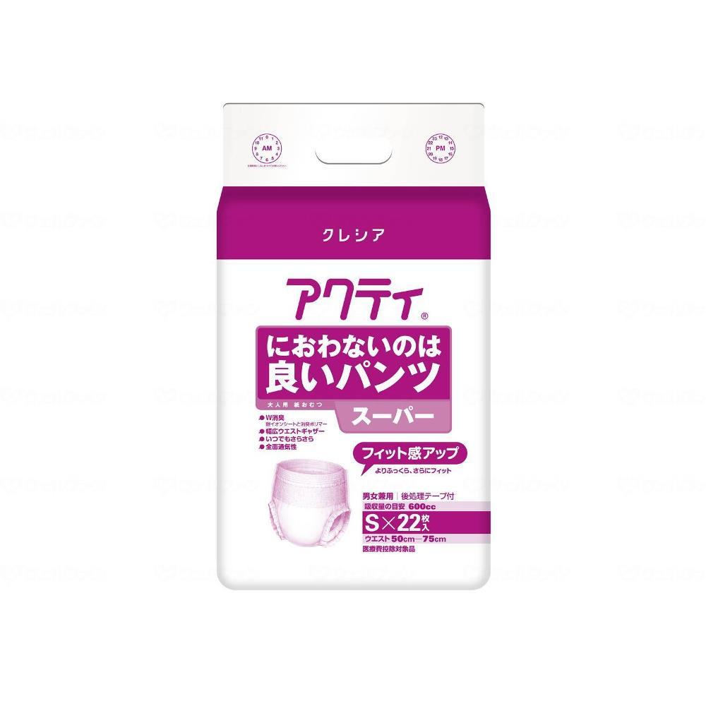 日本製紙クレシア におわないのは良いパンツ スーパー 業務用 22枚 S 84218