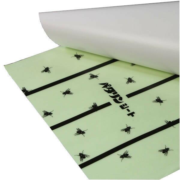 業務用ハエ取り紙 パタリンシート 30cm×65cm 5枚入り×60袋/ケース:豊栄薬品