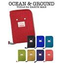 OCEAN & GROUND(オーシャン アンド グラウンド)母子手帳ケース GOODAY(オーシャン&グラウンド 大容量 ポケット ファスナー かわいい プレゼント ギフト)