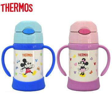 THERMOS(サーモス) 真空断熱ストローマグ ディズニー 250ml FHI-250DS (マグ 赤ちゃん ベビー サーモス 水筒 子供用水筒 ステンレス ミッキー ミニーマウス 子供 ジュニアキッズ 送料無料 水筒 子供)
